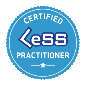 Badge LeSS Practitioner